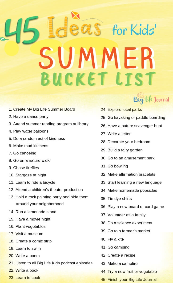 the bucket list parents guide