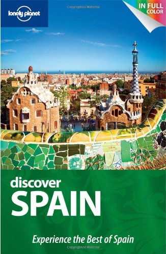lonely planet guide book spain