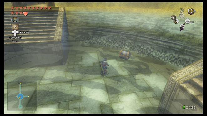 legend of zelda twilight princess strategy guide back of map