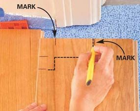 laminate floor installation direction guide