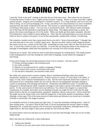 reading prose calicut university guide
