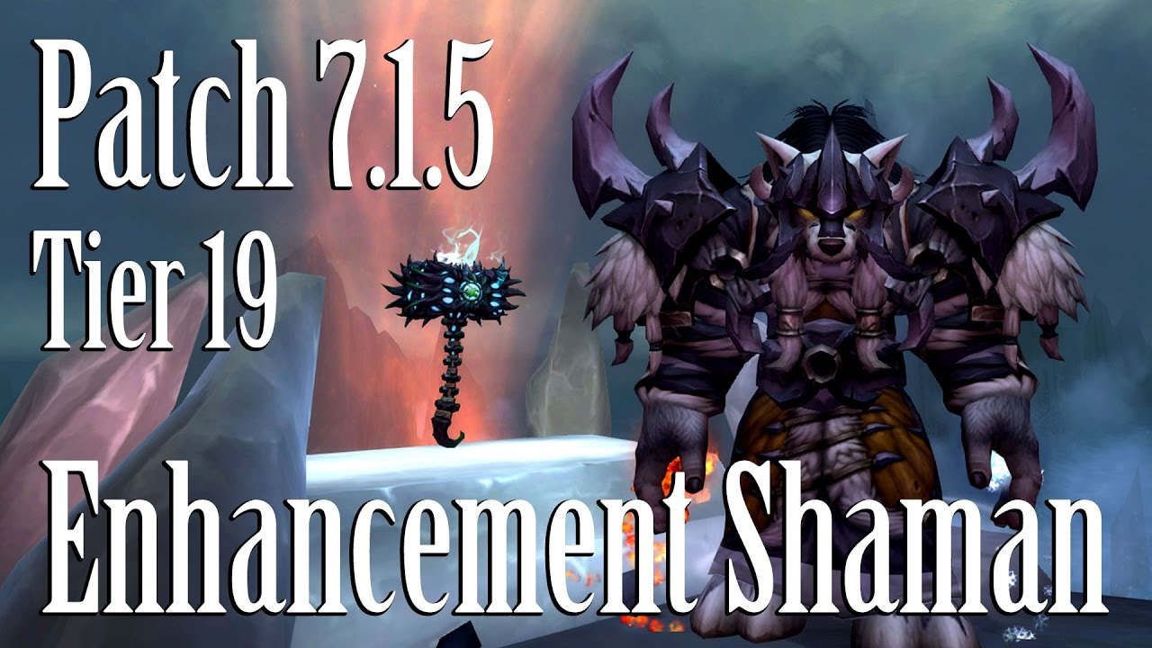 enchancement shaman guide for antorus