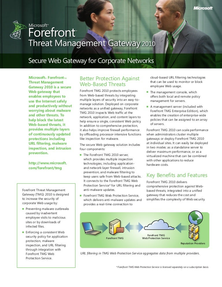 microsoft forefront threat management gateway 2010 installation guide