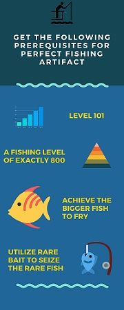 guide to get fishing artifact