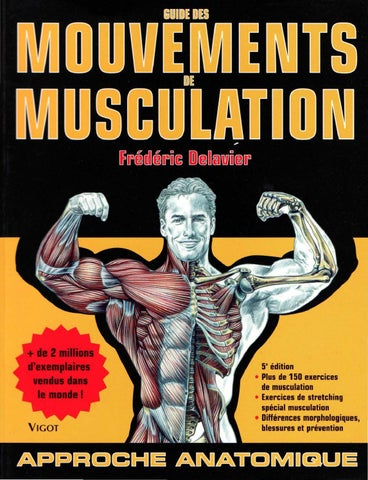 guide des mouvements de musculation amazon