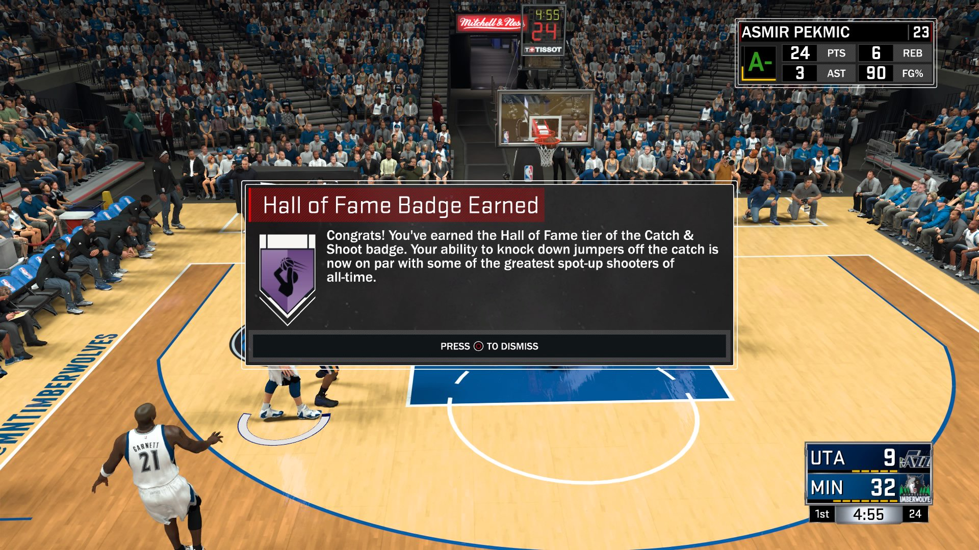 nba 2k17 badges guide hof