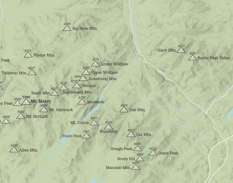 adirondack 46 high peaks guide