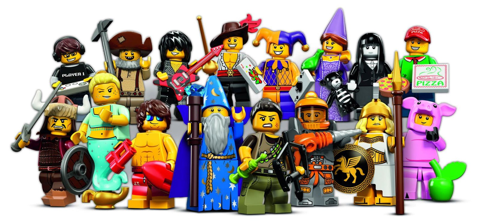 lego minifigures series 12 rarity guide