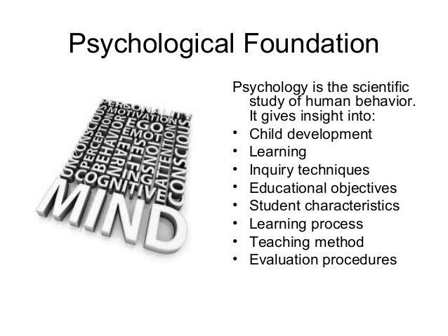 psychological social and biological foundations of behavior study guide