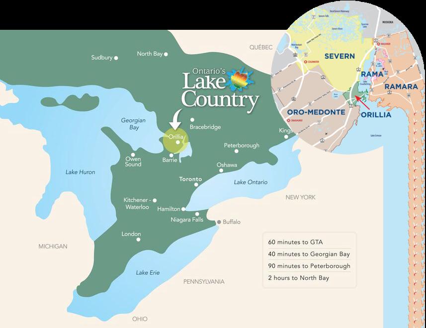 oro-medonte parks & recreation guide