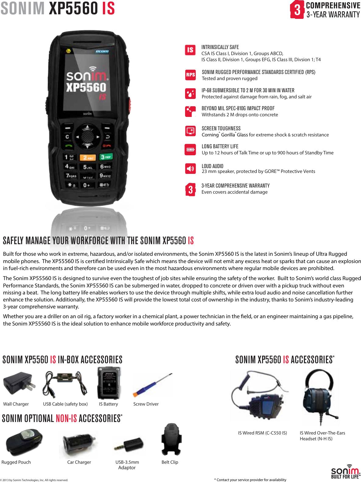 sonim xp5560 bolt 2 is user guide