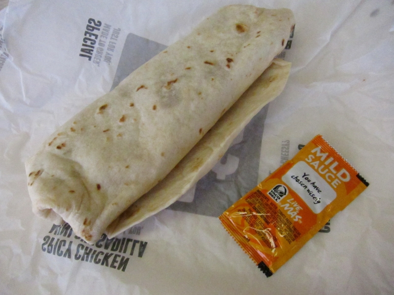 taco bell bean burrito nutrition guide