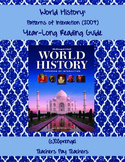 world history patterns of interaction guided reading worksheets